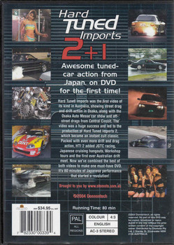 Hard Tuned Imports 2 +1 Special Edition DVD Back Cover