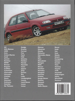 A - Z of Cars of the 1990s Back