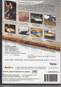 gnition Street Dreamz (Edition 003 DEC/JAN 05) DVD Back