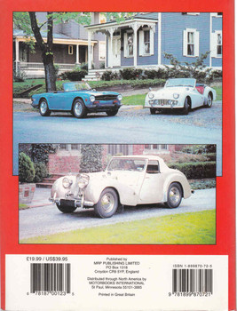 Triumph Cars The Complete Story: From Tri-Car To Acclaim  - back