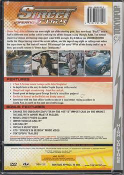 Street Fury Inferno DVD
