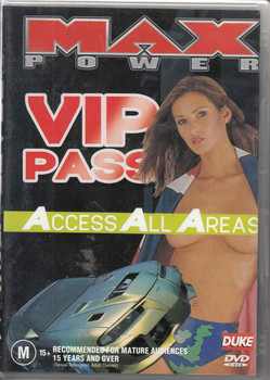 Max Power VIP Pass Access All Areas DVD (9315842011437)