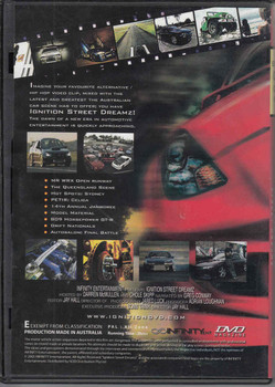 Ignition Street Dreamz Edition 002 Oct/Nov Magazine DVD