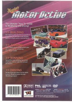 Meguiars Motor Active Street Machine 1 DVD (9321873000548)
