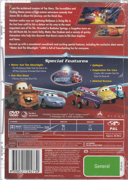 Cars - Disney Pixar Movie DVD
