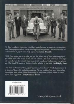 Saving Jaguar - John Egan Back