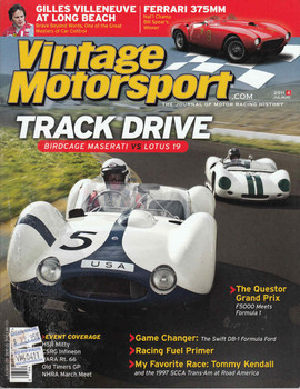 Vintage Motorsport Magazine Jul/Aug 2011 - The Journal of Motor Racing History