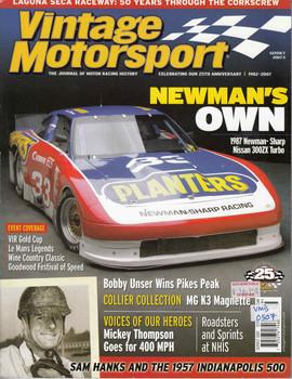 Vintage Motorsport Magazine Sep/Oct 2007 - The Journal of Motor Racing History