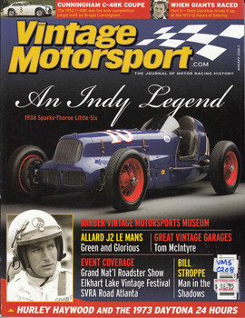 Vintage Motorsport Magazine Mar/Apr 2008 - The Journal of Motor Racing History