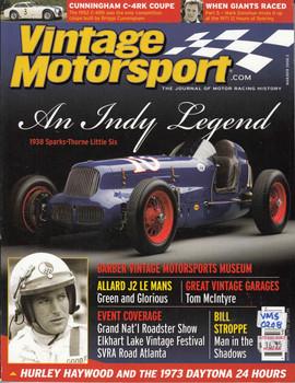 Vintage Motorsport Magazine Mar/Apr 2008 - The Journal of Motor Racing History