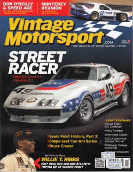 Vintage Motorsport Magazine Nov/Dec 2011 - The Journal of Motor Racing History