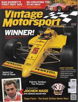 Vintage Motorsport Magazine May/Jun 2012 - The Journal of Motor Racing History