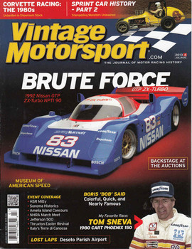 Vintage Motorsport Magazine Jul/Aug 2013 - The Journal of Motor Racing History
