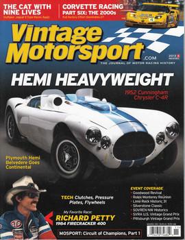 Vintage Motorsport Magazine Nov/Dec 2013 - The Journal of Motor Racing History