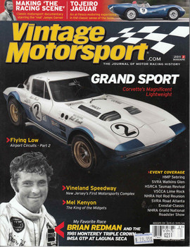 Vintage Motorsport Magazine Mar/Apr 2011 - The Journal of Motor Racing History