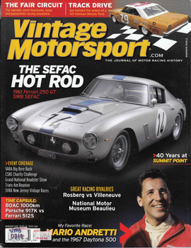 Vintage Motorsport Magazine Mar/Apr 2010 - The Journal of Motor Racing History