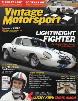 Vintage Motorsport Magazine Sep/Oct 2010 - The Journal of Motor Racing History