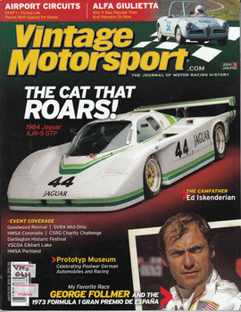 Vintage Motorsport Magazine Jan/Feb 2011 - The Journal of Motor Racing History