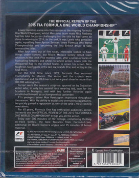 Formula One 2015 The Official Review Of the FIA World Championship That's What Champions Do - back