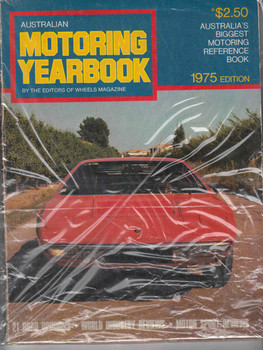 Australian Motoring Yearbook 1975 Edition