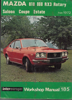 Mazda 818 808 RX3 Rotary from 1972 Workshop Manual - front
