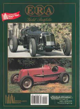 ERA English Racing Automobiles 1934-1994 Gold Portfolio - back