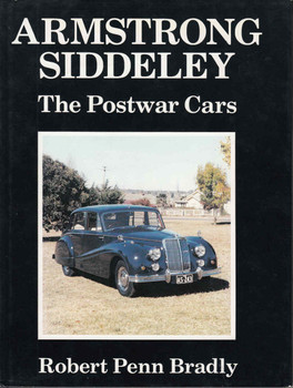 Armstrong Siddeley: The Postwar Years - front