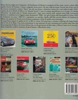 """ASA L'epopea della """"Ferrarina"""" (ASA The Little Ferrari) back Cover"""