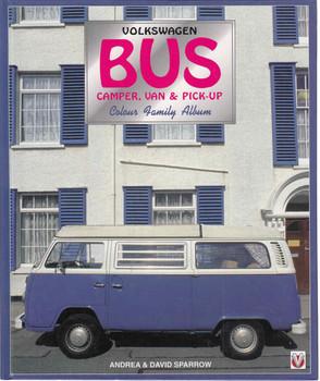 Volkswagen Bus Camper,Van & Pick-Up : Colour Family Album (9781874105787) - front