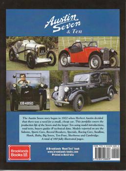 Austin Seven & Ten A Brooklands Road Test Portfolio (9781855208803) - back