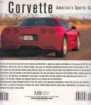 Corvette: America's Sports Car back