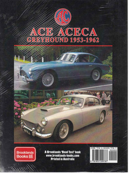 ACE ACEA Greyhound 1953-1962 A Brooklands Portfolio (9781855209787) - back