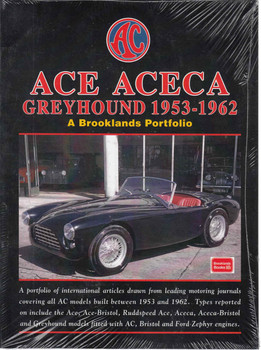ACE ACEA Greyhound 1953-1962 A Brooklands Portfolio (9781855209787) - front