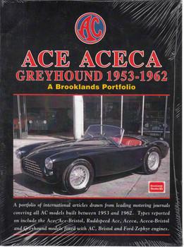 ACE ACEA Greyhound 1953-1962 A Brooklands Portfolio (9781855209787) - front