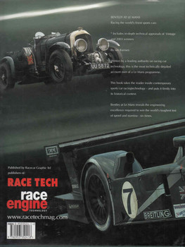 Bentley At Le Mans: Racing The World's Finest Sports Cars (9780953352418) - back