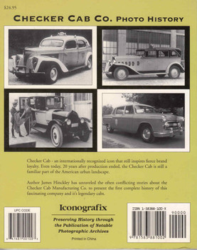 Checker Cab Co. Photo History (9781583881002) - back