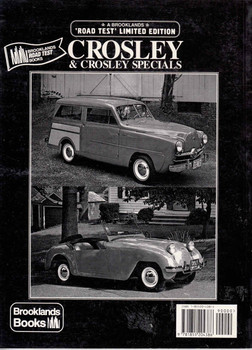 Crosley & Crosley Specials Road Test Limited Edition (9781855204386) - back