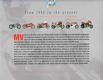 MV Augusta From 1945 to the present (9788879116176) - back