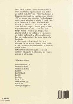 Autobianchi Bianchina (Italian Text) ( 9788879110945) - back