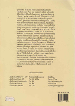 Alfa Romeo Alfetta (Italian Text) (9788879111256) - back