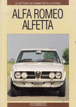 Alfa Romeo Alfetta (Italian Text) (9788879111256) - front