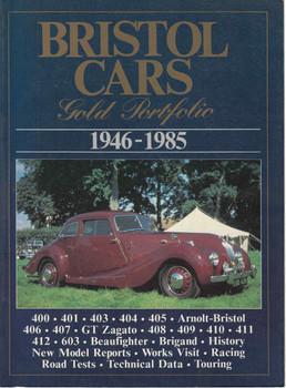 Bristol Cars Gold Portfolio 1946 - 1985 ( 094820768X)
