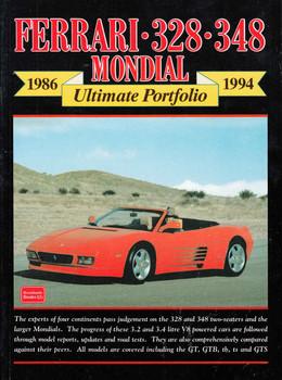 Ferrari 328 348 Mondial 1986 - 1994 Ultimate Portfolio (9781855204256) - front
