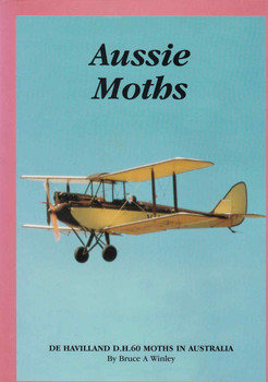 Aussie Moths: De Havilland D.H.60 Moths In Australia (0646330802) - front