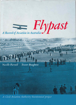 Flypast: A Record of Aviation in Australia (9780644079181) - front