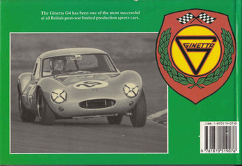 Four Brothers' '4' The History Of The Ginetta G4 (9781870519076) - back