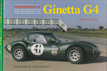 Four Brothers' '4' The History Of The Ginetta G4 (9781870519076) - front