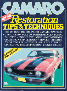 Camaro Restoration Tips & Techniques (9781869826864) -front
