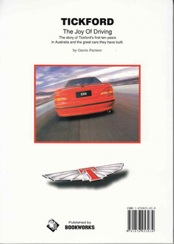 Tickford: The Joy Of Driving (9781876953034) - back