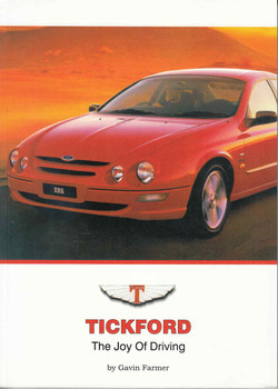 Tickford: The Joy Of Driving (9781876953034) - front